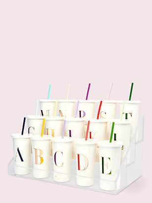 it's personal initial tumbler by kate spade new york hover view