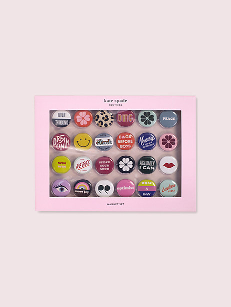 actually i can magnet set by kate spade new york