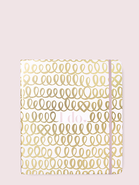 I do bridal planner by kate spade new york