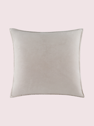 solid velvet euro sham by kate spade new york non-hover view