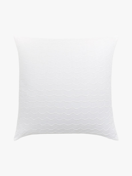 carnation pucker scallop euro pillow by kate spade new york