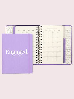 engaged bridal appointment calendar by kate spade new york non-hover view