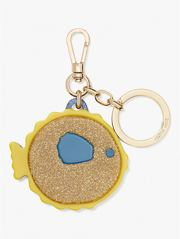 puffy fish key fob, , rr_large