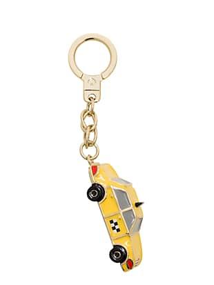 케이트 스페이드 택시 키링 Kate Spade taxi keychain,YELLOW MULTI
