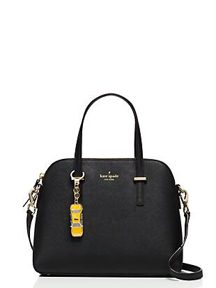 taxi keychain by kate spade new york hover view
