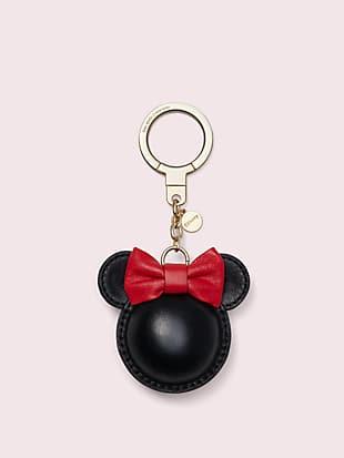 케이트 스페이드 뉴욕 X 미니 마우스 키링 kate spade new york x minnie mouse minnie keychain,MULTI