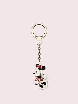 kate spade new york x minnie mouse keychain, multi, medium