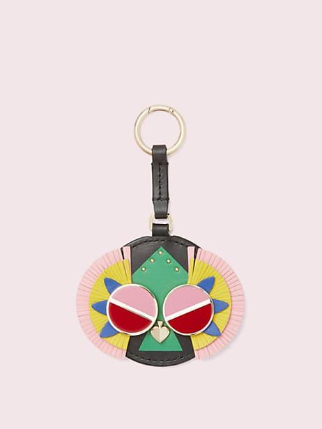 spademals preeny peacock dangle keychain by kate spade new york