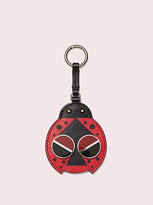 spademals ladybug dangle keychain by kate spade new york non-hover view