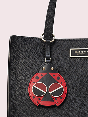 spademals ladybug dangle keychain by kate spade new york hover view