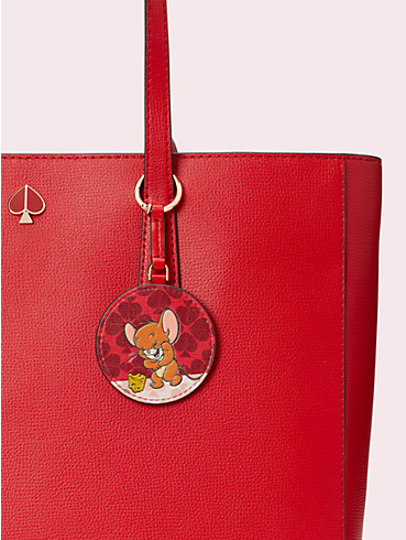 kate spade new york x tom & jerry key fob, , rr_productgrid
