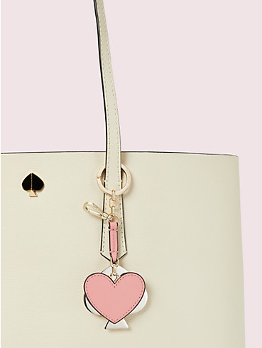 heart mirror bag charm, , rr_productgrid