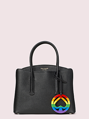 rainbow spade cutout bag tag by kate spade new york hover view