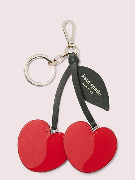 cherry bag charm by kate spade new york