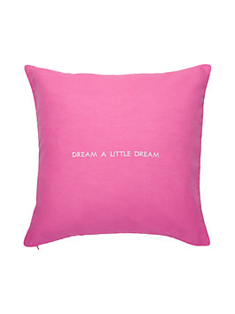 idiom pillow, pink, medium