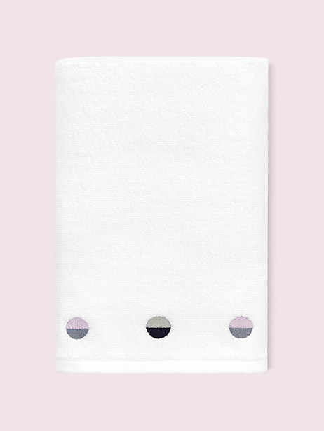 half dot bath towel by kate spade new york