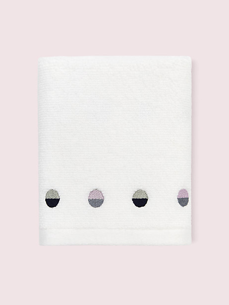 half dot fingertip towel by kate spade new york