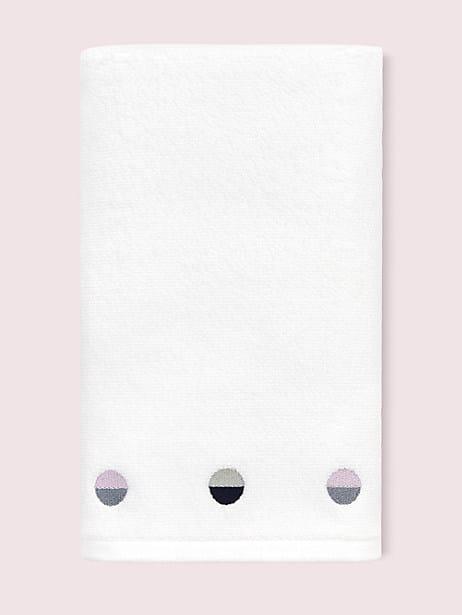 half dot hand towel by kate spade new york