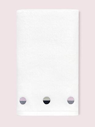 half dot hand towel by kate spade new york non-hover view