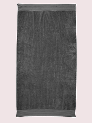scallop pleat bath towel by kate spade new york hover view