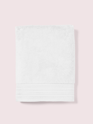 scallop pleat bath towel by kate spade new york non-hover view