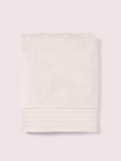 scallop pleat bath towel, cashew butter, large by kate spade new york