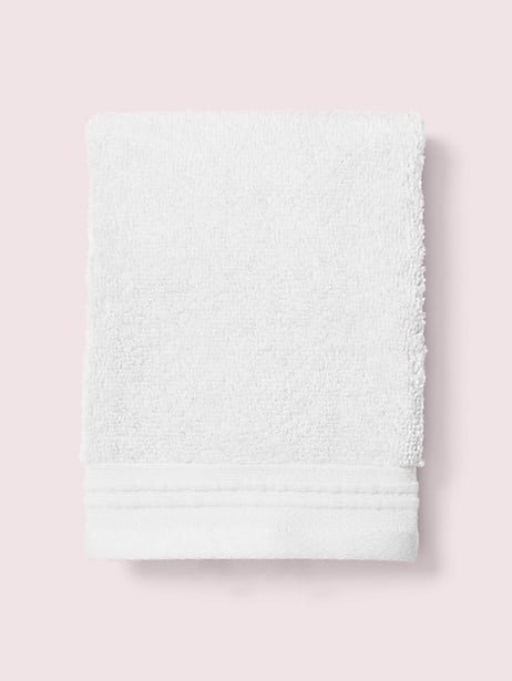 scallop pleat wash cloth by kate spade new york