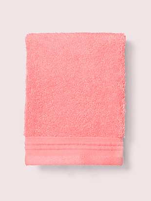scallop pleat wash cloth by kate spade new york non-hover view