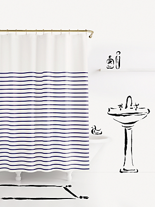 charlotte street shower curtain by kate spade new york non-hover view