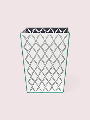 fern trellis wastebasket by kate spade new york non-hover view