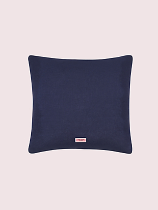 dusk stripe scallop row pillow by kate spade new york hover view