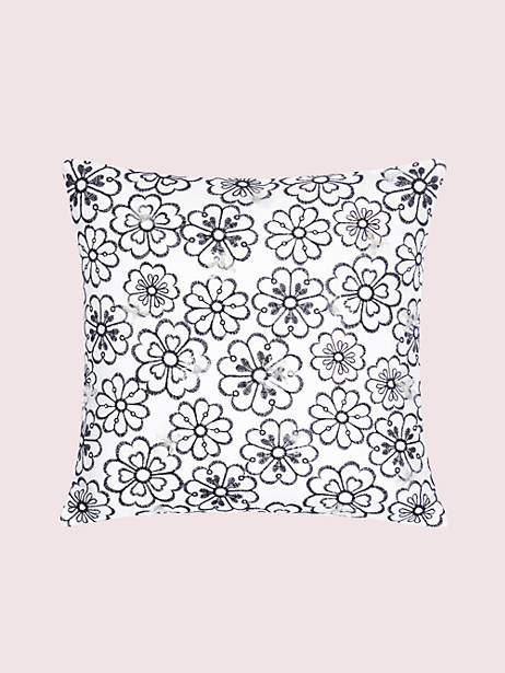 heart garden decorative pillow by kate spade new york