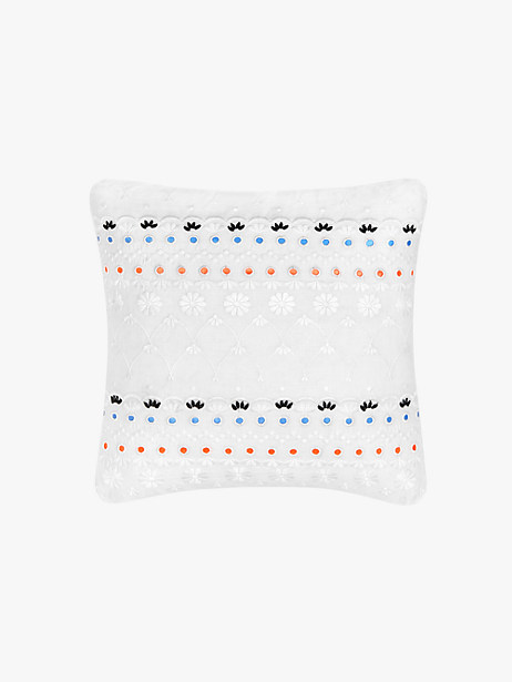 eyelet sequin decorative pillow by kate spade new york