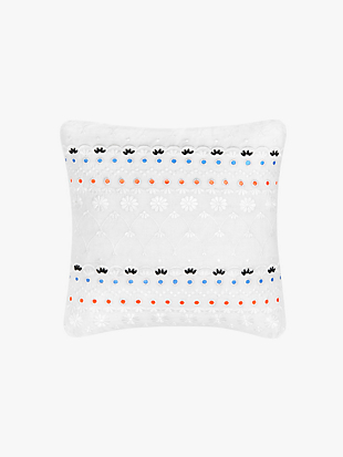 eyelet sequin decorative pillow by kate spade new york non-hover view