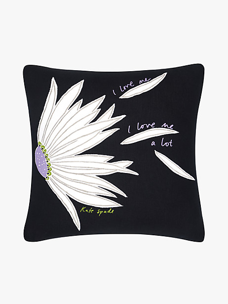 love me falling flower decorative pillow by kate spade new york