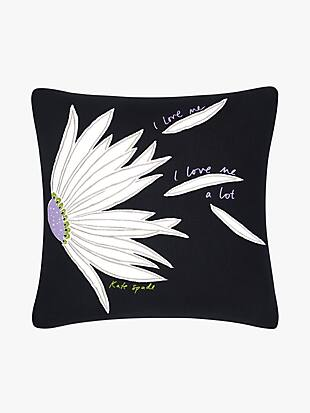 love me falling flower decorative pillow by kate spade new york non-hover view