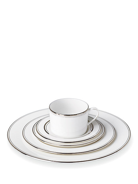 library lane platinum five-piece place setting by kate spade new york