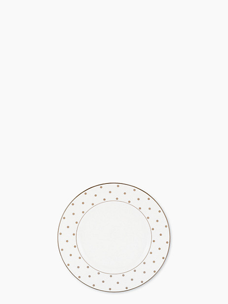 larabee road platinum accent plate by kate spade new york