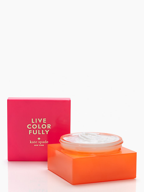 live colorfully body cream by kate spade new york