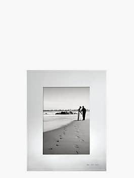 darling point 5x7 frame, silver, medium