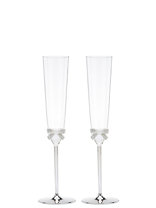grace avenue toasting flute pair by kate spade new york non-hover view