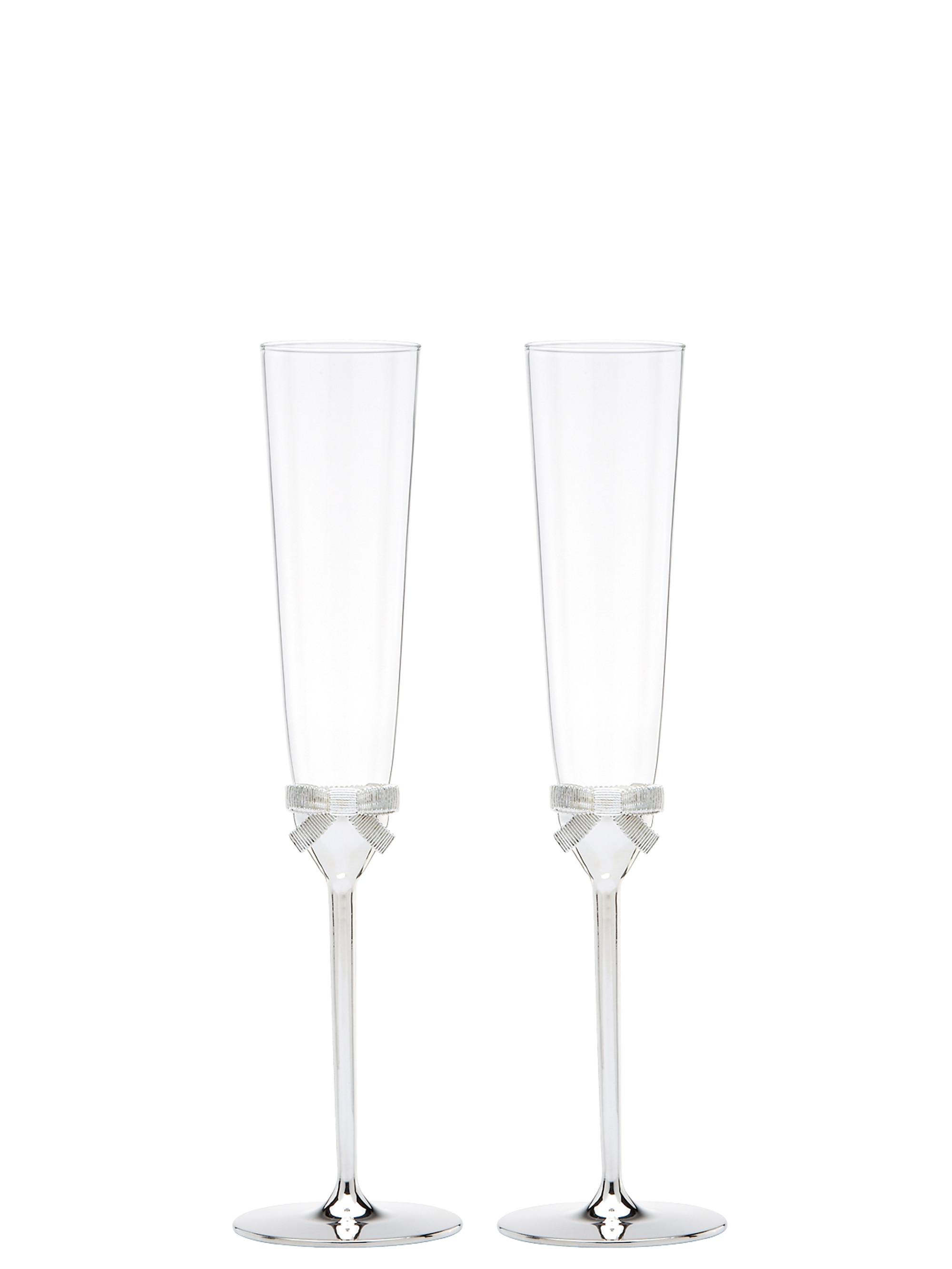 Kate spade grace avenue toasting flute pair