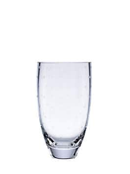larabee dot 8.75'' bouquet vase, clear, medium
