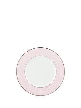 mercer drive accent plate, navy, medium