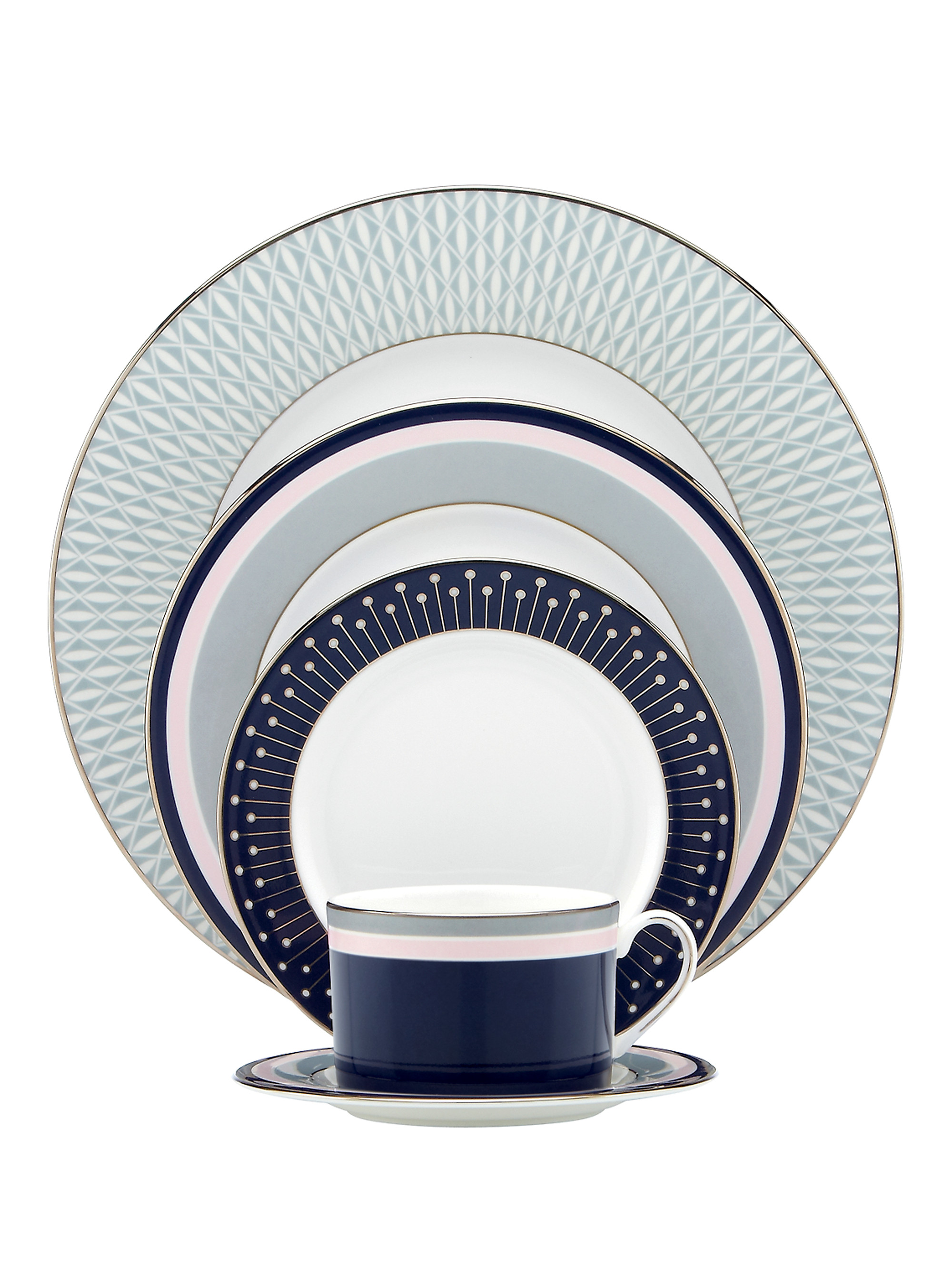 Kate spade mercer drive five-piece place setting