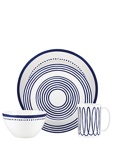 charlotte street four-piece place setting by kate spade new york