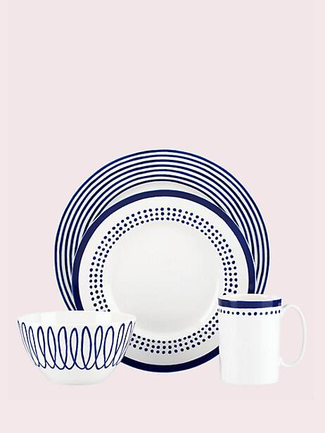 charlotte street east four-piece place setting by kate spade new york