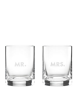 darling point mr. and mrs. dof set, clear, medium
