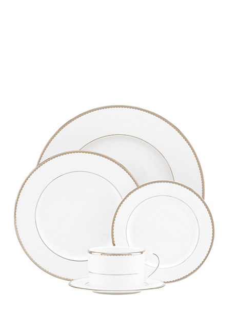 sugar pointe five-piece place setting by kate spade new york