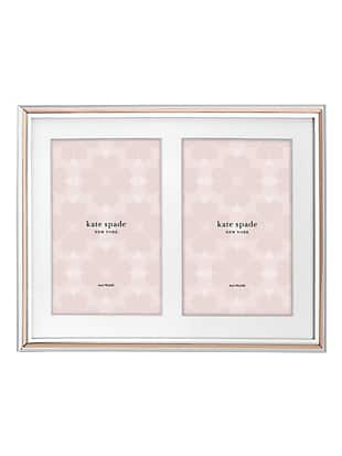 rosy glow double invitation frame by kate spade new york non-hover view